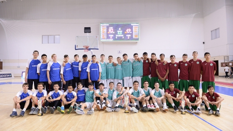 Qualification for the Asian Championship among boys U-16 awarding ceremony