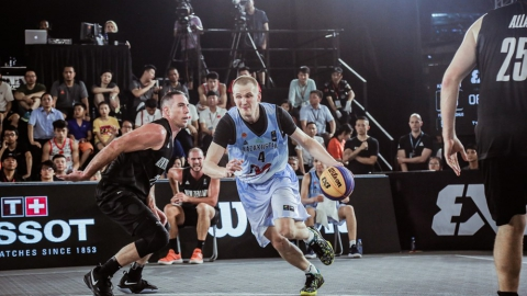 FIBA 3x3 Asia Cup among men's teams 2018 - Group stage: Kazakhstan - New Zealand