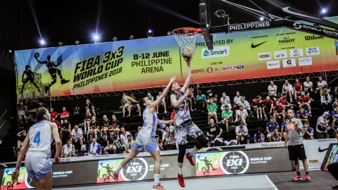 FIBA 3x3 World Cup among women's teams 2018 - Group stage: Argentina - Kazakhstan